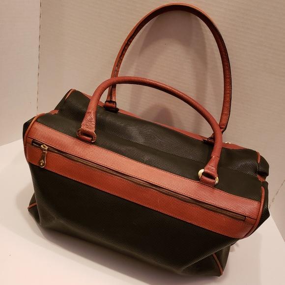 Bottega Veneta Handbags - Bottega Veneta black and brown vintage satchel